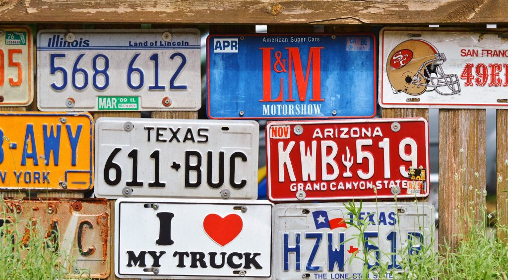 how to transfer your license plates