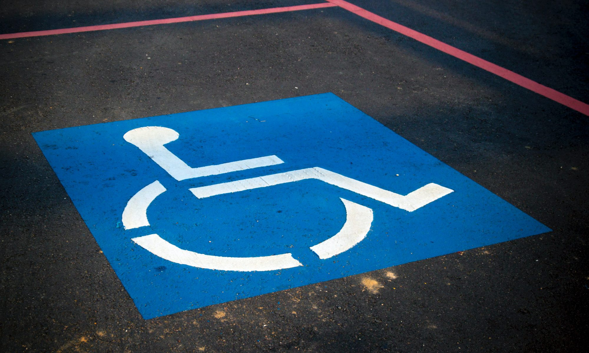 how to get handicap license plates