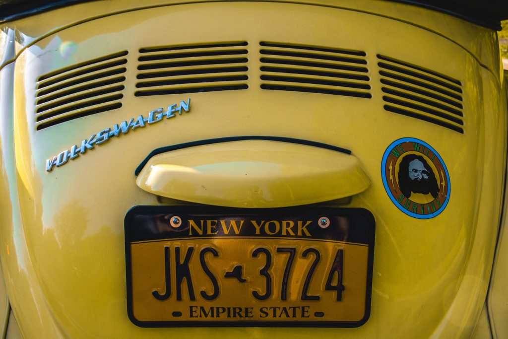 the history of license plates
